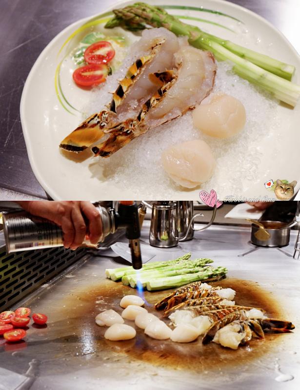 新竹竹北享廚鐵板燒前菜.jpg