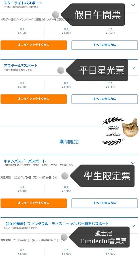 日本東京迪士尼星光票.jpg