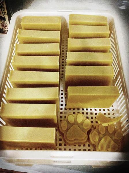 甜橙酪梨低敏滋養寵物皂201409251