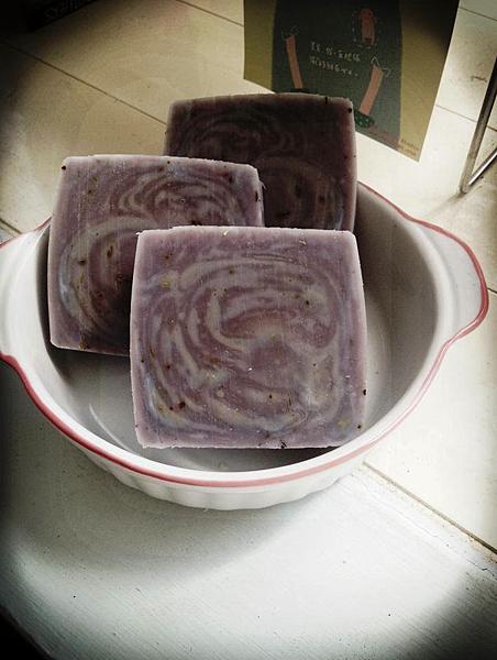 紫戀薰衣草身體皂秋冬款1