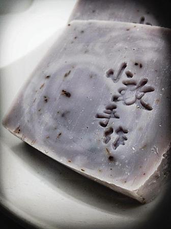 紫戀薰衣草身體皂2