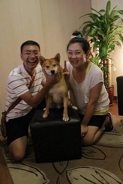 小玫手作寵物幸福手工皂的狗小模拍照