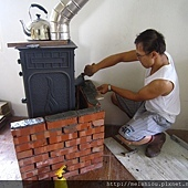 壁爐砌磚.JPG