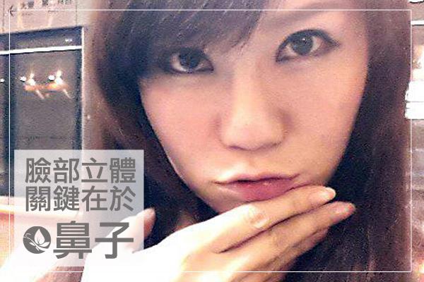 鼻子02-素顏美女文