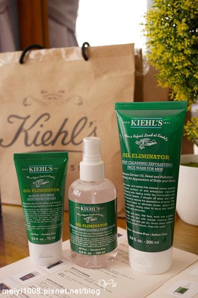 Kiehl's終擊油光清爽潔面膠/清爽勁涼噴霧/清爽乳液