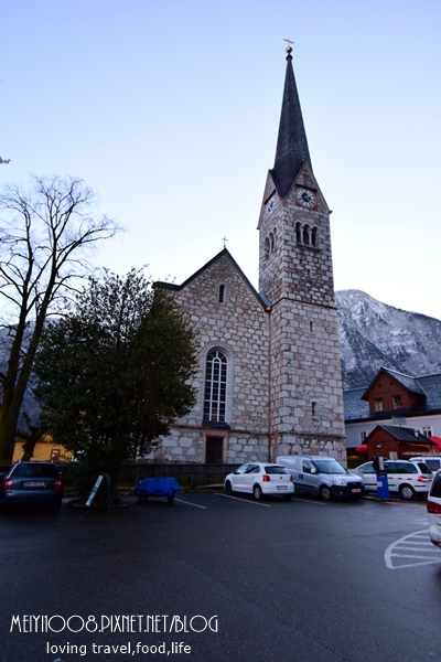 奧地利哈斯達特Hallstatt尖塔