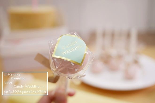Candy Wedding彌月蛋糕甜心棒棒糖
