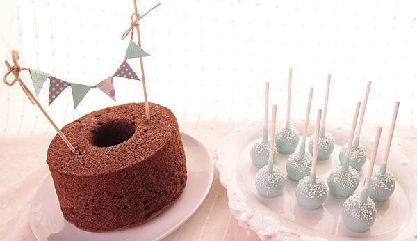 Candy Wedding彌月蛋糕小公主迷你派對.戚風蛋糕