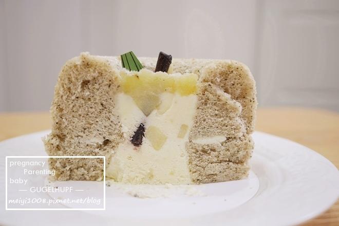 咕咕霍夫茶蘋果彌月蛋糕試吃