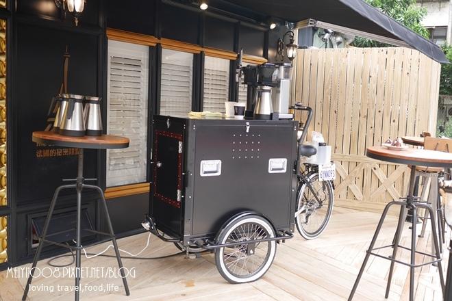 法國的秘密甜點大安店行動咖啡車