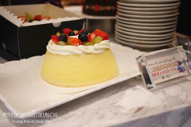 法國的秘密甜點大安店藍紋乳酪鮮奶蛋糕