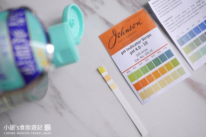 露得清高效即淨卸妝水試紙檢測