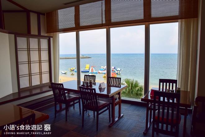 沖繩麗山谷茶灣飯店七福日式自助餐廳座位區