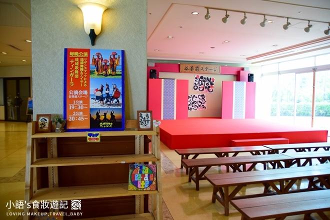 沖繩麗山谷茶灣飯店傳統表演地點舞台