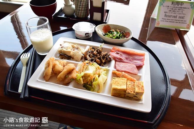 沖繩麗山谷茶灣飯店七福傳統日式自助餐廳