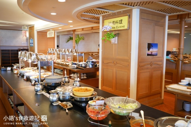 沖繩麗山谷茶灣飯店中西日式合併早餐廳沖繩料理
