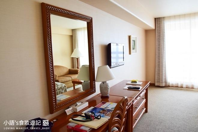 沖繩麗山谷茶灣飯店雙人床房間