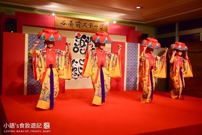 沖繩麗山谷茶灣飯店傳統表演