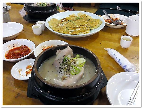 072-土俗村蔘雞湯+海鮮煎餅