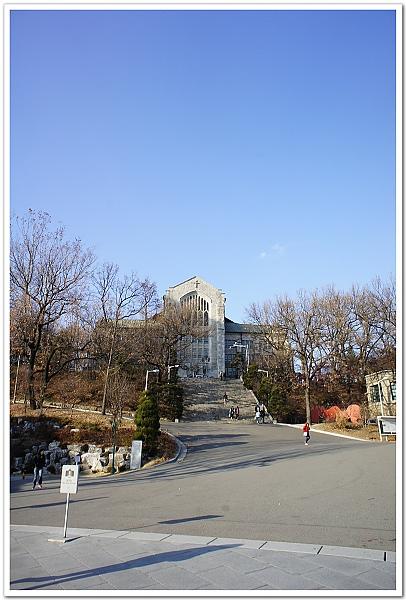 086-很有fu的梨花女子大學校園
