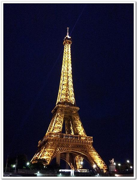 001-夜晚的巴黎鐵塔,超美!