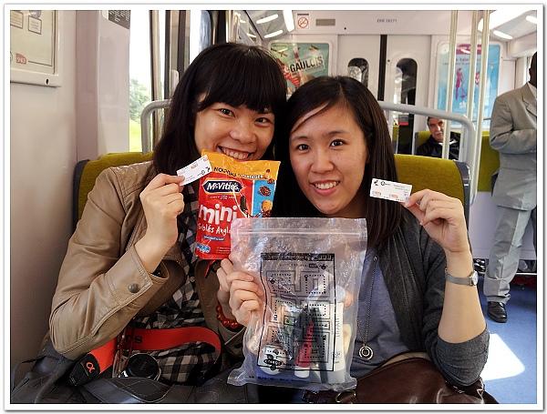 045-成功搭上RER!