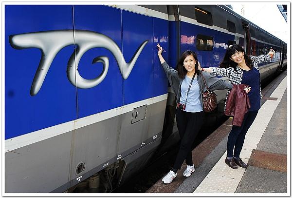 054-初抵科瑪,看我們多開心,可以當TGV的廣告了XD