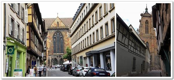 077-放好行李,開始小鎮閒晃……前方是接下來一直鬼打牆繞個不停的聖馬丁教堂