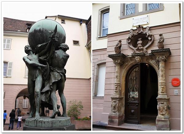 085-這是巴拉第的故居,館內展出他的生平事蹟,不過因為要門票,在外面拍拍照就行啦!巴拉第是個雕塑大師,能設計出法國送美國的自由女神,真的是很厲害啊!