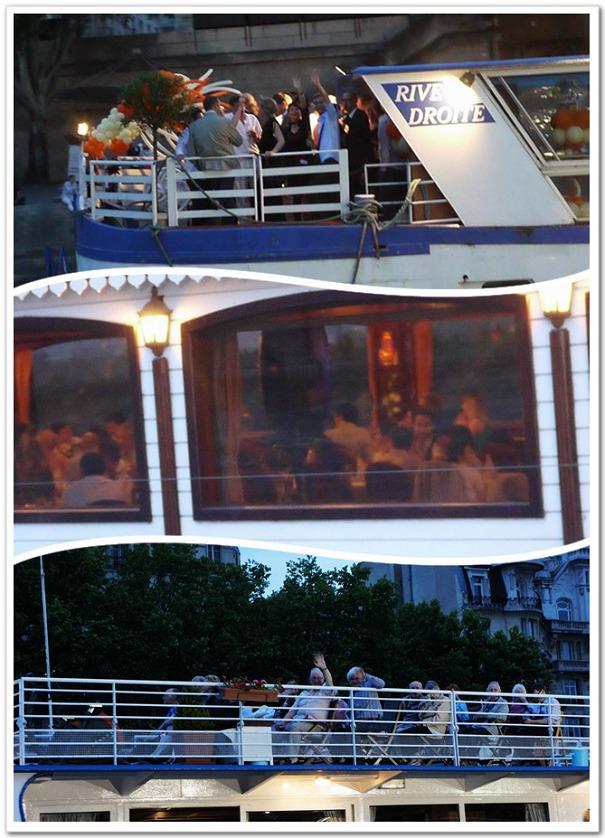 197-塞納河上有各式各樣的遊船,互相打招呼是一定要的啦!