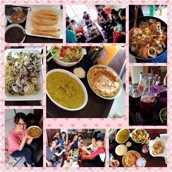 20151122-今天的西班牙party,超好吃啦!這是料理教室第四彈.jpg