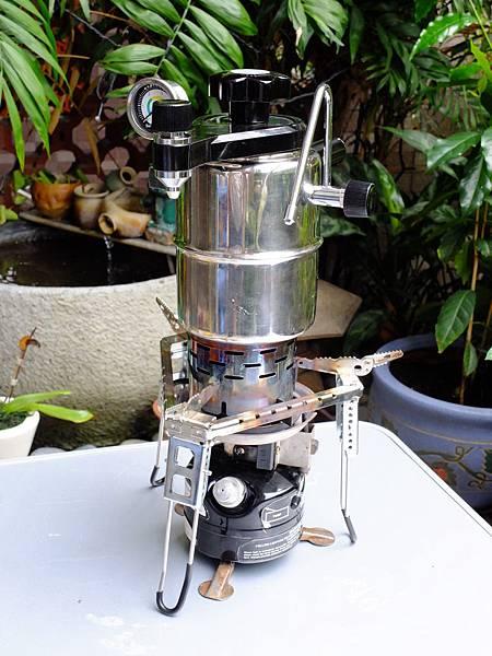 HV咖啡壺+取暖器+單爐