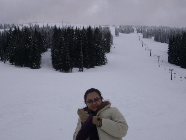 很幸運當天滑雪場休息沒營業~~隨我們玩瘋了