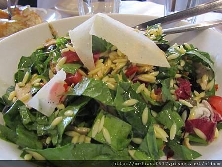 翡冷翠機肉波菜沙拉1