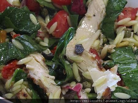 翡冷翠機肉波菜沙拉2