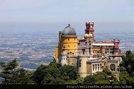 Palace-of-Pena,-Sintra
