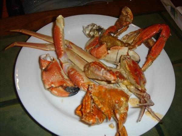 reef hotel的螃蟹大餐來了!!!
