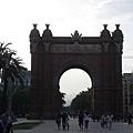 凱旋門Arc de Triomf