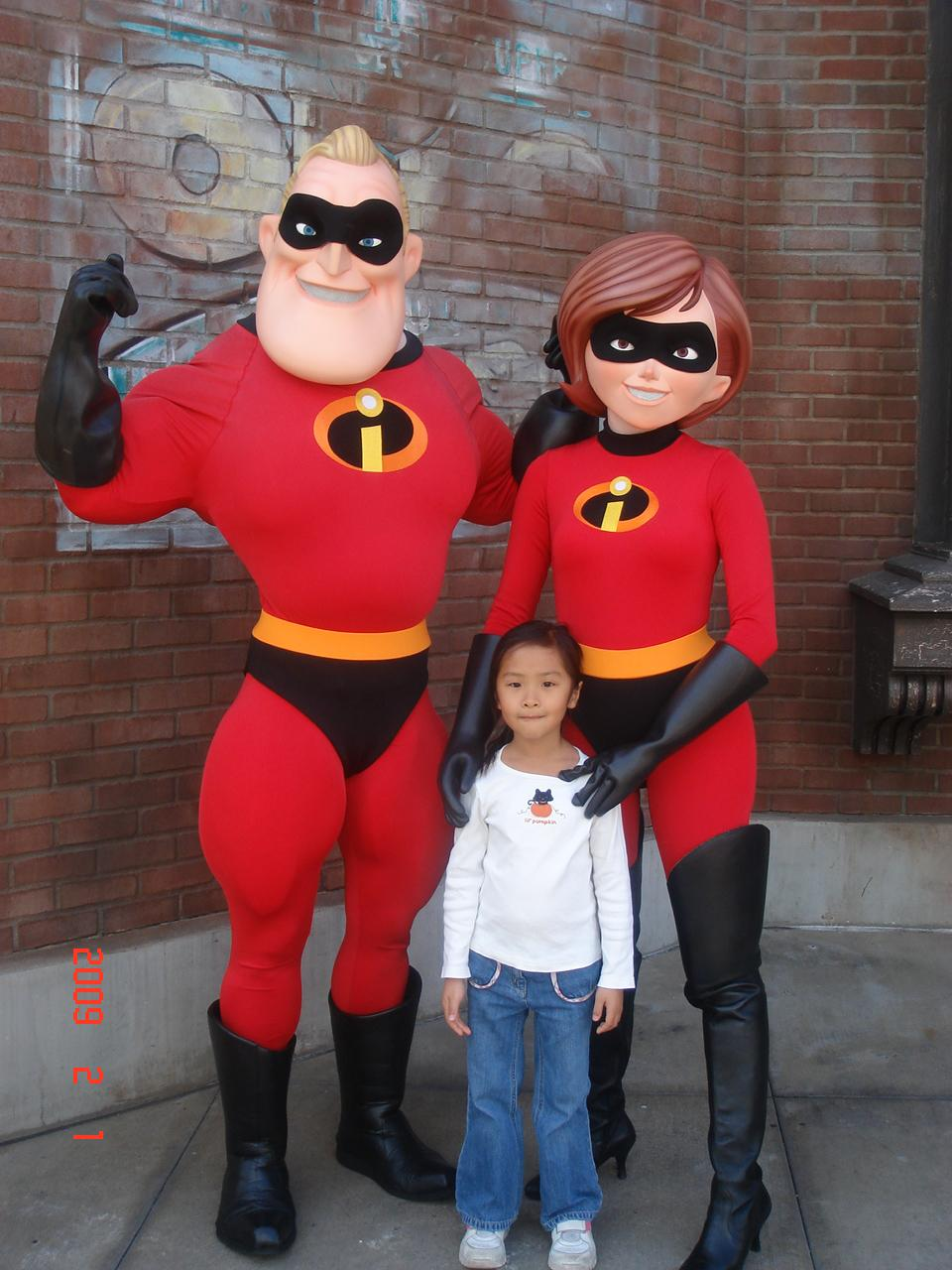 與超人爸媽合照