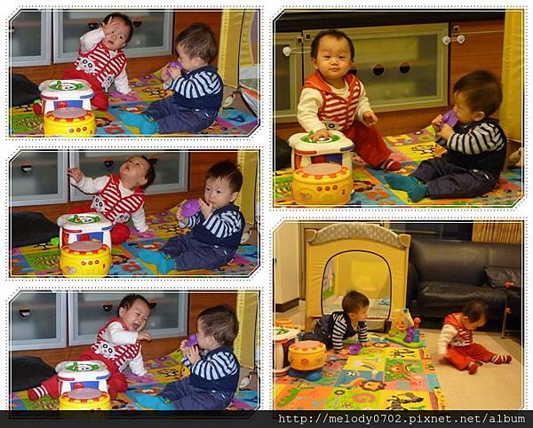 20130108 滿11個月紀念照_互動篇