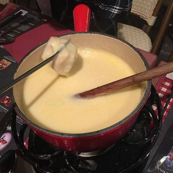 chamonix起司鍋
