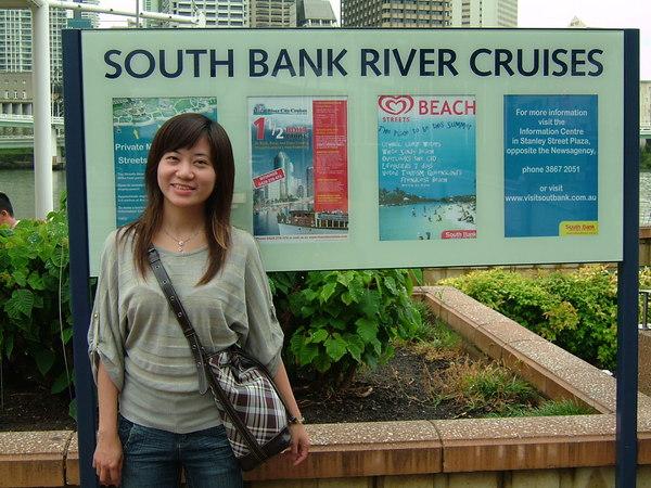 South bank river