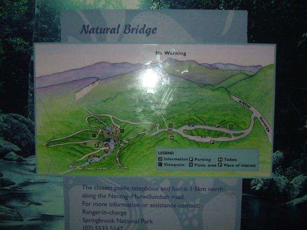 Natural Bridge自然橋國家公園看瑩火蟲