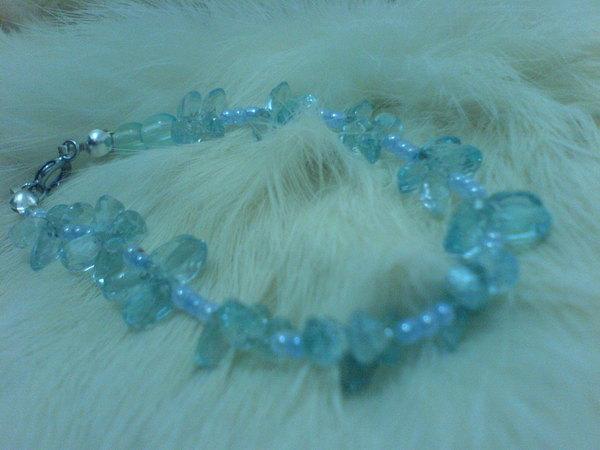 藍水晶手鍊