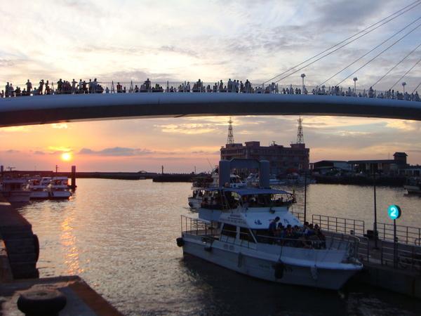 日落的漁人碼頭