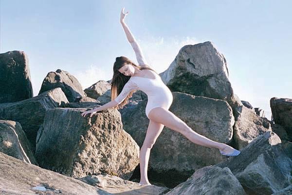 芭蕾舞者的孕婦寫真