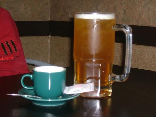熱奶茶與啤酒之戀?!