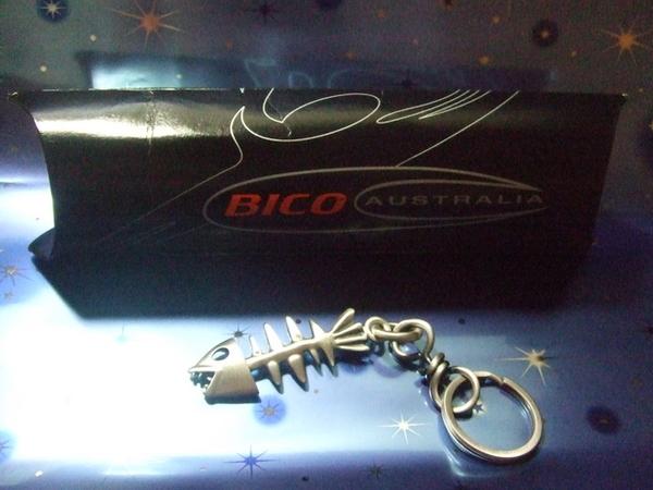 Bico的魚骨頭鑰匙圈