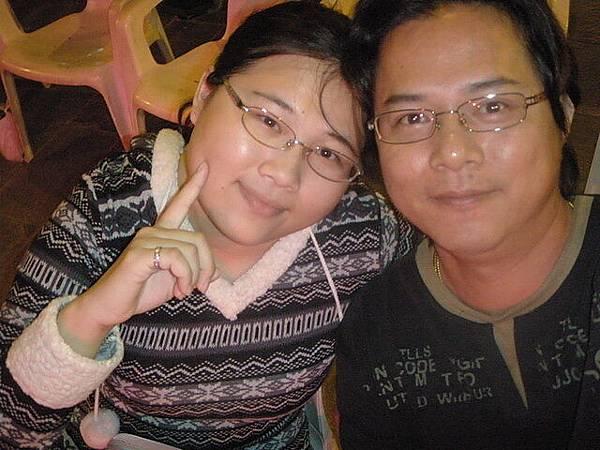 我和老公在台南市文化中心
