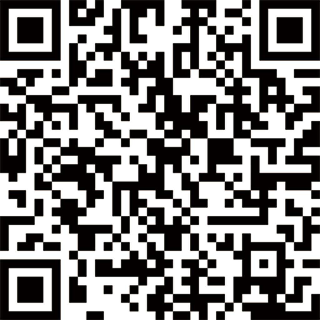 43泰雅渡假村官方LINE QR  黑白色